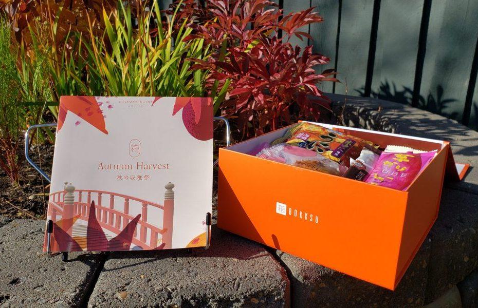 Bokksu 2 - Autumn Harvest box and guide