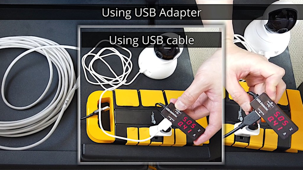 Comparing power draw of USB cable with USB extender adapters (USB over RJ45)