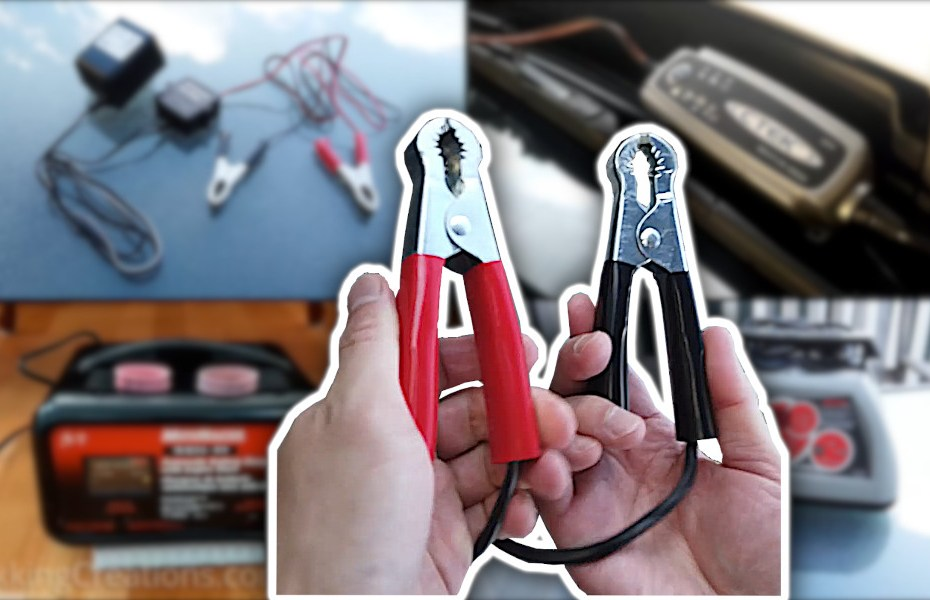 Blog_How to Charge a Car Battery - What to use, How to hook up a car battery charger
