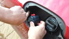 Stuck gas door - How to open stuck fuel door, what not to do, and how to fix Mercedes gas cover