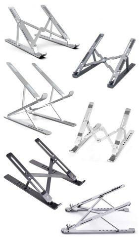 Best portable laptop stands, aluminum laptop stands, ergonomic laptop stands and adjustable laptop stands