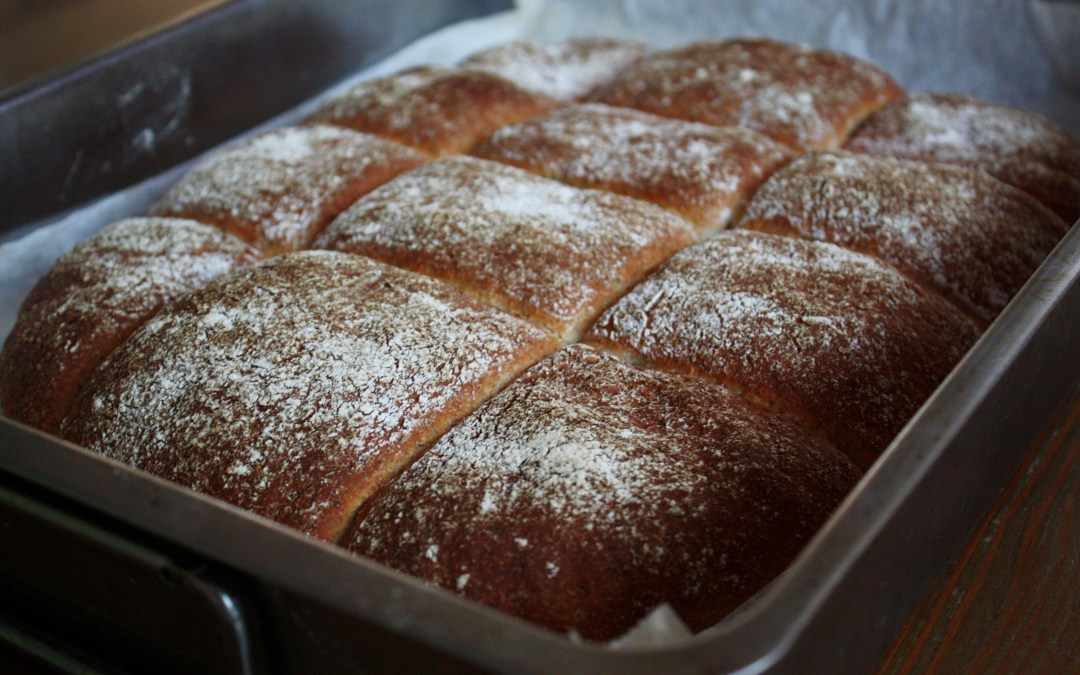 Nattjäst frukostbröd med krossade chiafrön