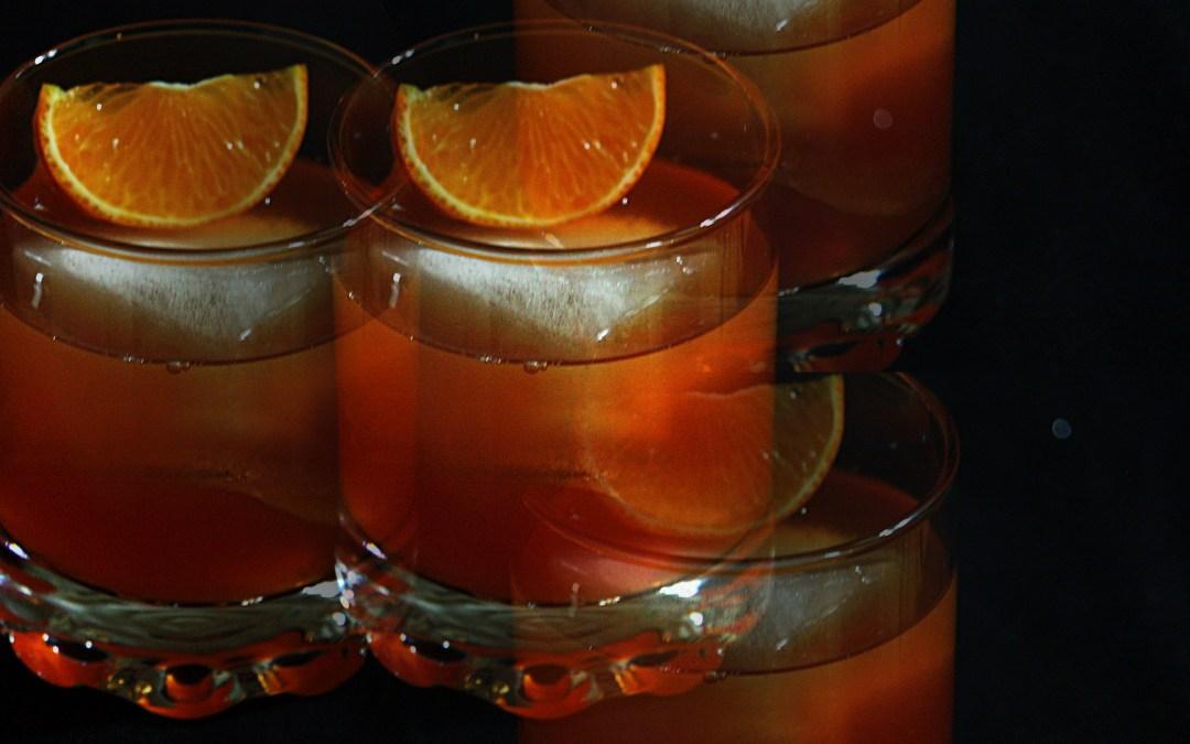 Negroni med smak av mandarin