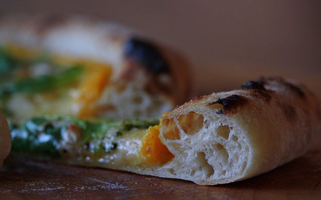 Bästa pizzadegen, bästa höstpizzan och det bästa bakstålet.