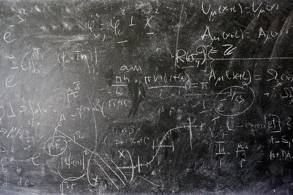 GENEVA, SWITZERLAND – APRIL 19: A detailed view of the blackboard with theoretical physics equations in chalk by Alberto Ramos, Theoretical Physics Fellow and visitor, Antonio Gonzalez-Arroyo from the Universidad Autonoma de Madrid (both not in frame) at The European Organization for Nuclear Research commonly know as CERN on April 19, 2016 in Geneva, Switzerland. (Photo by Dean Mouhtaropoulos/Getty Images)