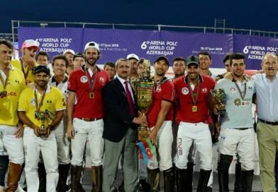 Azərbaycanın polo komandası Bakıda keçirilən Dünya Kuboku yarışlarında ikinci yeri tutub