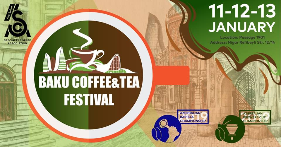 "Bakıda ""Baku Coffee & Tea Festival"" keçiriləcək"