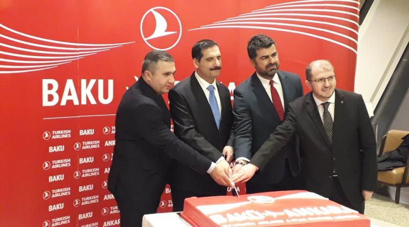 Heydər Əliyev Beynəlxalq Aeroportunda THY-nin Bakı-Ankara-Bakı reysinin açılış mərasimi baş tutub