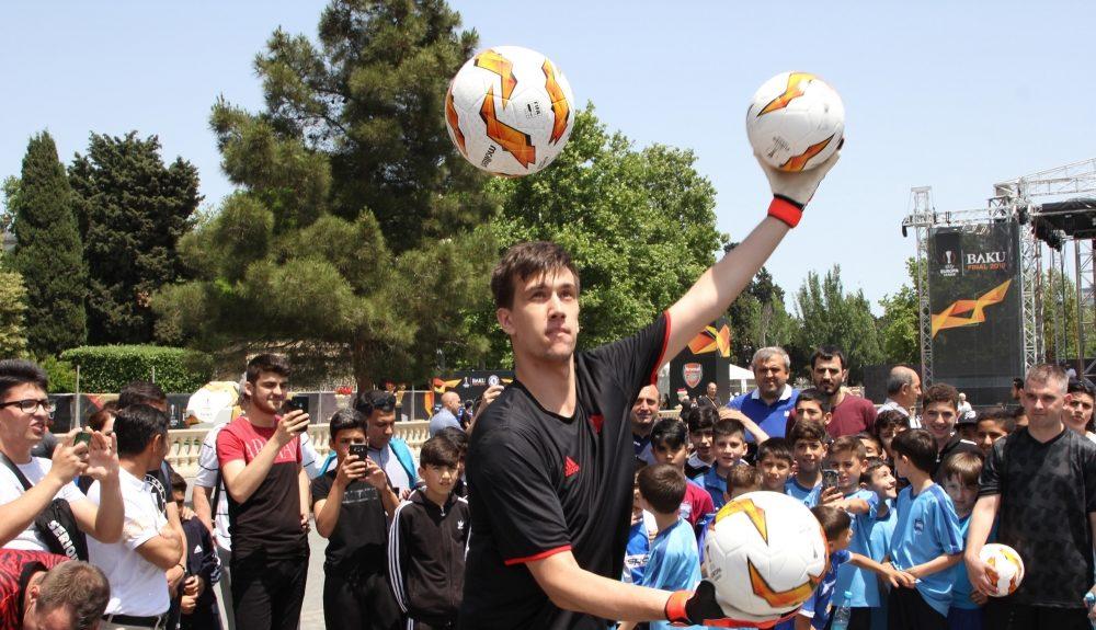 UEFA Avropa Liqasının final qarşılaşması ilə əlaqədar Dənizkənarı Milli Parkda azarkeş festivalı keçirilib