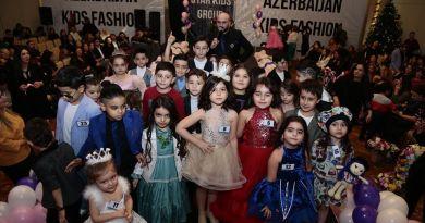 """""""Qış Nağılı 2019"""" adlı Kids Fashion Show yarışması keçirilib"""