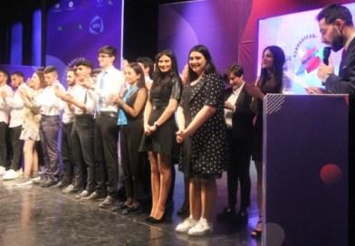 В государственном академическом национальном драмтеатре состоялась 1/8 финала игры Азербайджанской телевизионная лига КВН