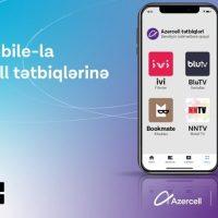 """® """"Azercell""""in rəqəmsal məhsulları """"IBA Mobile"""" tətbiqində"""