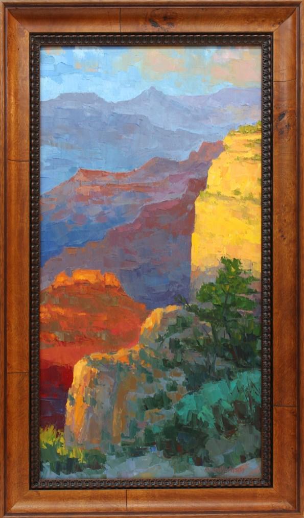 Russell Johnson Prescott oil painter Prescott Greeting Card