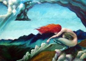 Ida Woll fine art at the Frame & I Prescott AZ