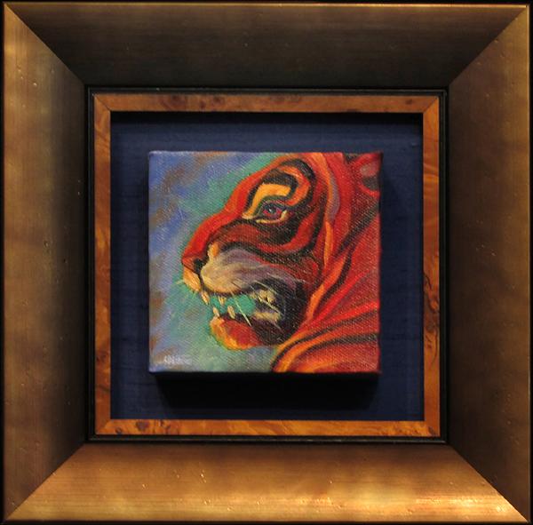 Featured artist, Susan Daigle-Leach at the Frame & I, Prescott Gallery