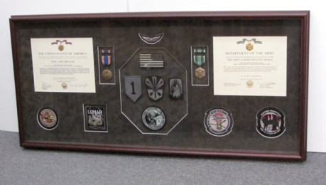 Air Medals, Patches, and Army Commendation