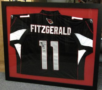 Fitzgerald Jersey Framed