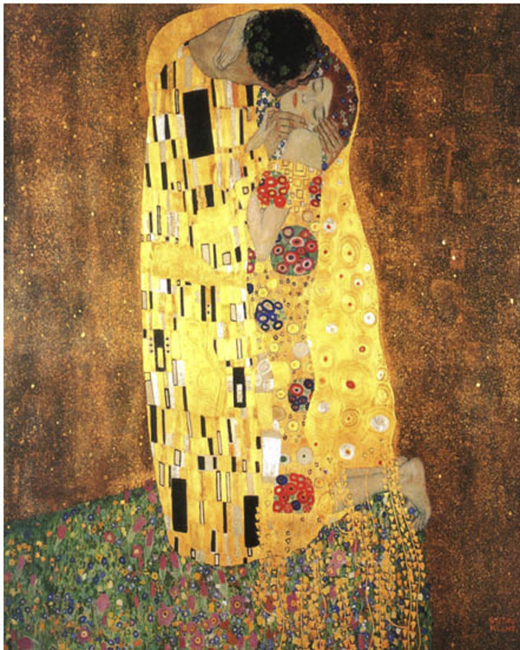 The Kiss -Gustav Klimt