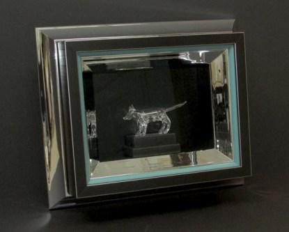 Harlow Glass Cat