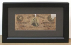Fifty Dollar Bill -1861