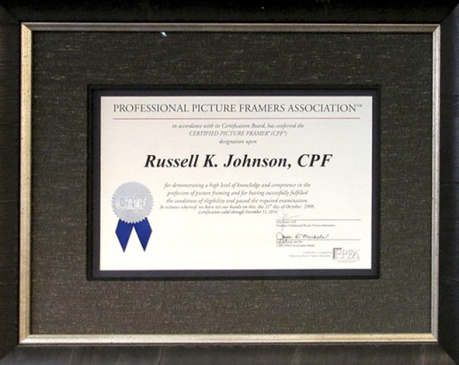 Russell Johnson, CPF