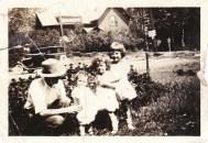 Woodward before digital photo restoration
