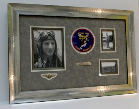 military medals custom frame preserved