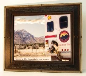 19 Hotshots Memorial Frame
