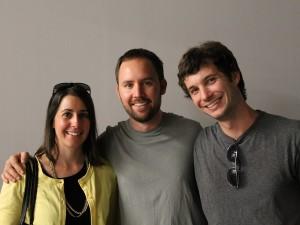 Charles Halka, Cathy Halka and Ben Krause
