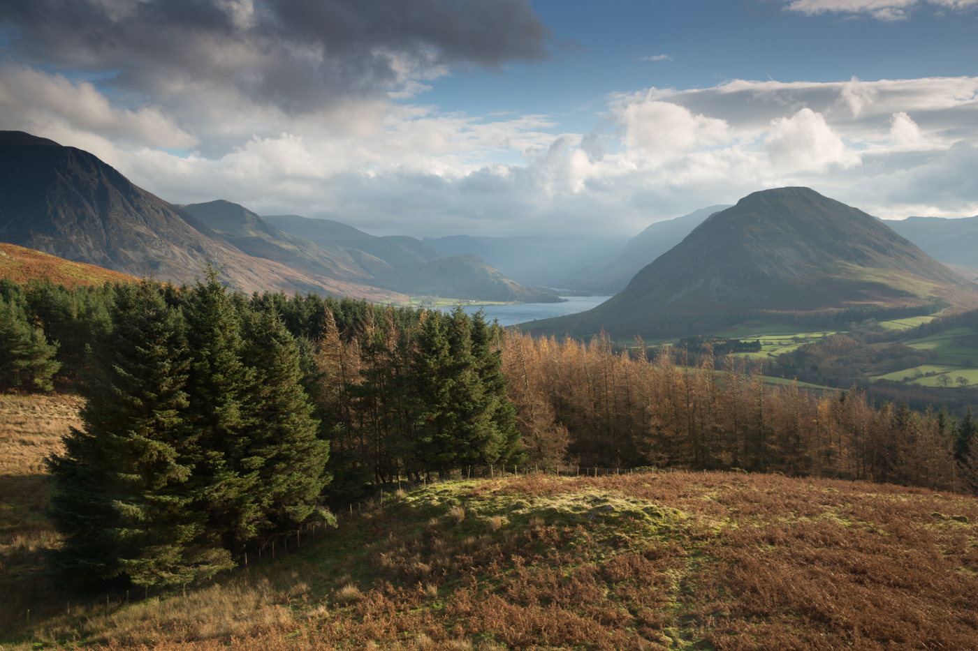 Crummock from Low Fell