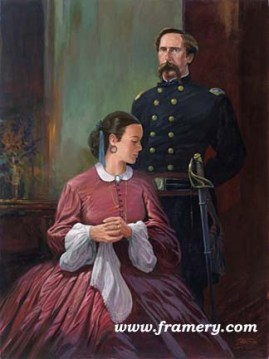JOSHUA AND FANNY by Dale Gallon LTC Joshua L. Chamberlain and his wife, Caroline Frances In stock and available Current price - $200