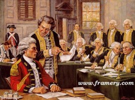 """""""YOU, SIR, ARE A SPY"""" The trial of British Major John Andre, co-conspirator of Benedict Arnold. 1780. Commemorates the 225th Anniversary of the Judge Advocate General's Corps of the U. S. Army Image size 18 X 24.5"""" In stock and available Current price - Call"""