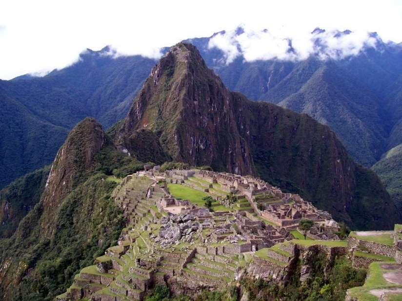 Overview of Machu Picchu, in Peru