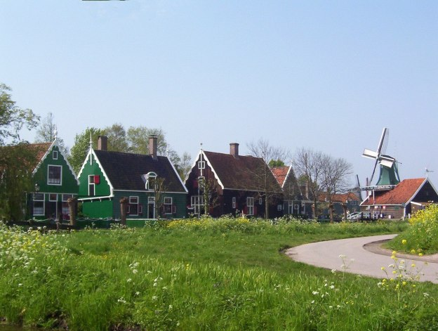 Village of Zaanse Schans, the netherlands