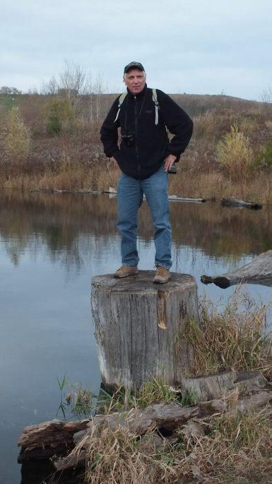 Bob on Cedar Trail, Rouge National Park, Toronto