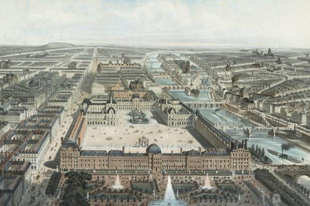 Jardin Des Tuileries - in the time of Catherine de Medici