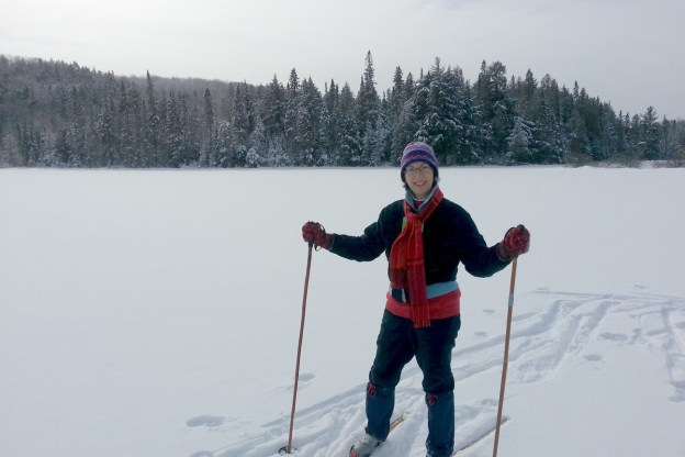 Jean on Fen Lake - Algonqiun Park - Ontario