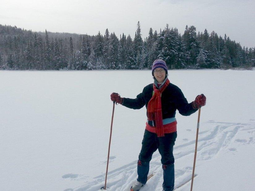 Jean on Fen Lake - Algonqiun Park - Ontario