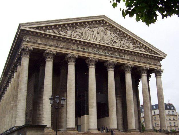 La Madeleine Church - Paris - France