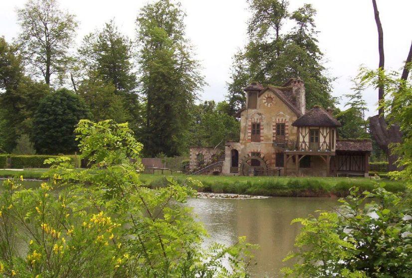 Marie Antoinette's estate gardens - The Mill - France