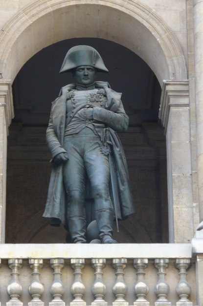Statue of Napoleon at Les Invalides --- Paris - France