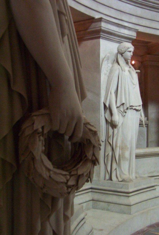 Statues in Circle Around Napoleon's Tomb - Paris - France