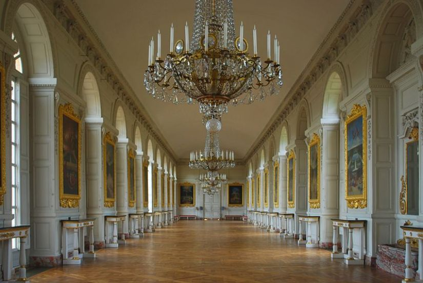 The Grand Trianon Castle interior - Domain of Versailles - France