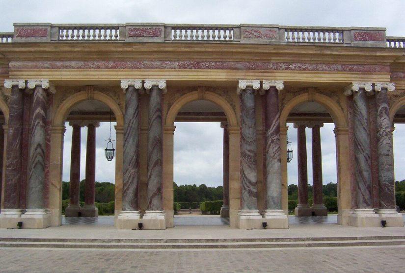 The Grand Trianon - a porcelain pavilion built by Louis Le Vau - Domain of Versailles - France