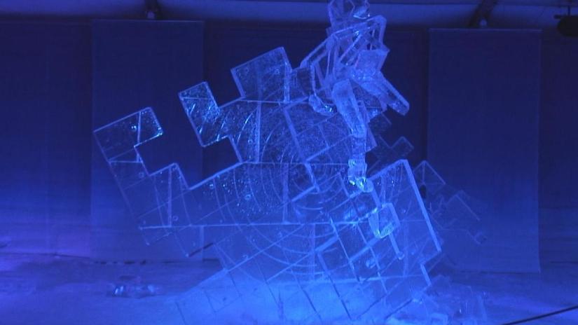 1st place winner - Ice Sculpture - Winterlude - Ottawa