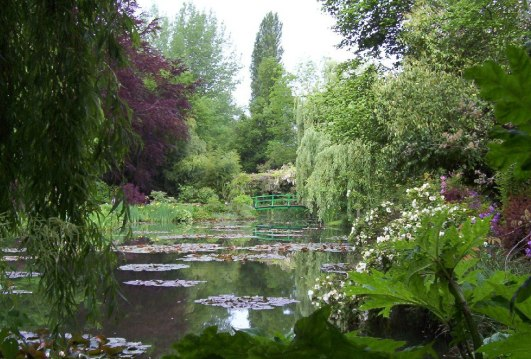 An image of Claude Monet's Water-Lily Pond in Giverny, France.