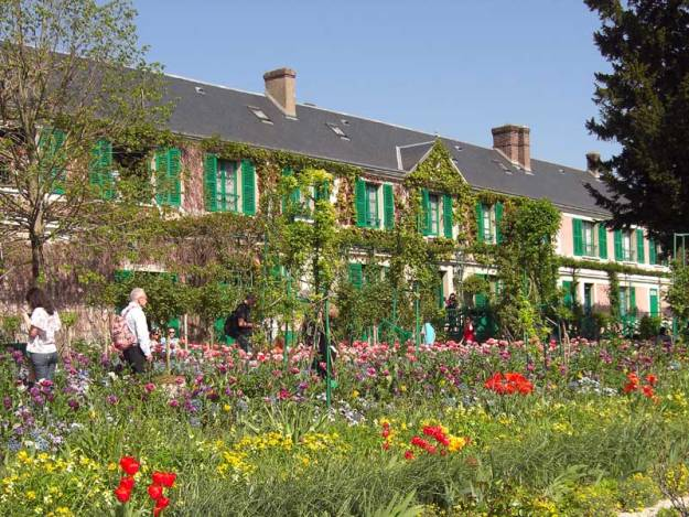 Claude Monet's home and garden at Giverny in France