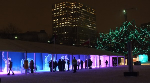 Ice Sculpture exhibit - Winterlude - Ottawa