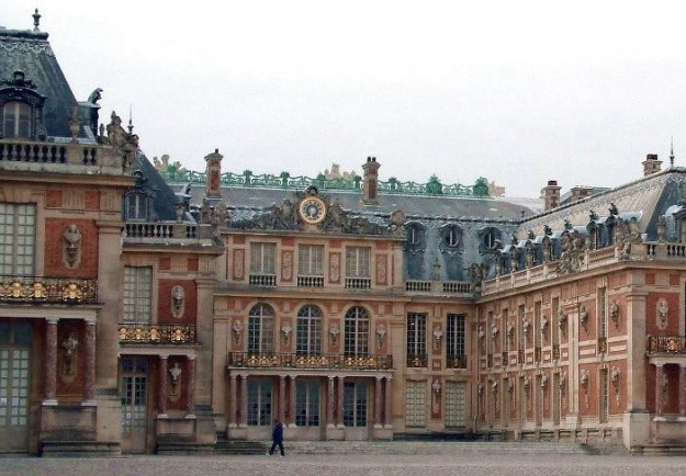 Palace of Versailles - Royal Courtyard -- France
