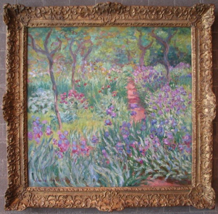 The Artist's Garden at Giverny (1900), by Claude Monet